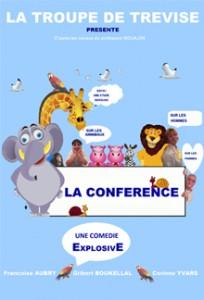 visuel la conférence